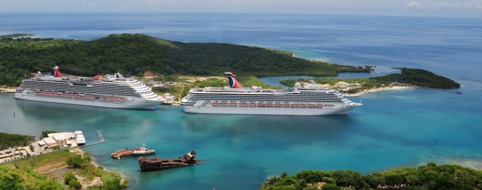 Roatan Cruise Port Guide CruisePortWikicom - Carnival cruise ships wiki